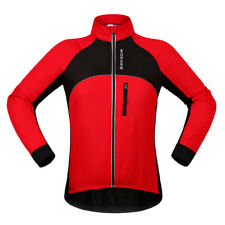 Men Womne Cycling Jersey Team Bike Bicycle Long Sleeve Clothing Jacket Warm