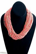 BOHEMIAN Lucky Brand Multi Strand Red Bead and Blue Bead Necklaces and Bracelets