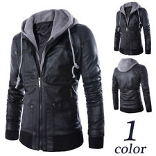 Men's Slim Cardigan Collar Stitching Jackets Jacket Tops Casual Coat Outerwear