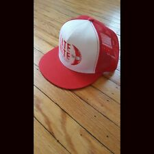 LATE NITE Red Snapback