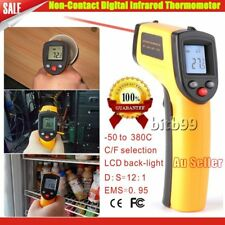 Digital Non-Contact Infrared IR Thermometer Temperature Laser Gun -50℃ to 330℃^N