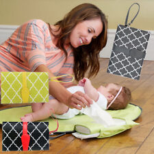 baby pad Portable Clean Hands Changing Pad 3-in-1 Diaper Clutch Changing Station