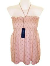 Bnwt Womens French Connection Strappy Top Blouse Boob Tube Peach Fcuk New