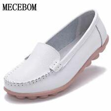 2017 Shoes Woman Leather Women Shoes Flats Colors footwear Loafers Slip On Women
