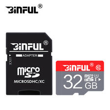 High Speed Micro SD Card 16GB 32GB TF Card Class10 SDHC With Free Adapter