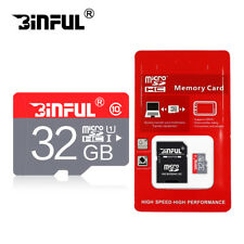 New Micro SD Card 16GB 32GB 64GB TF Card SDHC/SDXC Class10 With Free Adapter