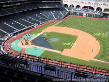 1-4 Seattle Mariners @ Houston Astros 2018 Tickets 6/6/18 Sec 427 Row 1 Minute