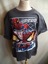 Marvel Spiderman Childs T Shirt Sizes S-XL Black, Gray, Blue or Green NWT Super!