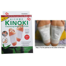 10,20...100 Kinoki Detox Foot Patch Pads Feet Patches Remove Body Toxins Bamboo