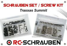 Screw Set for the Traxxas Summit - Stainless Steel & Steel - ISK & IS