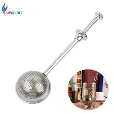 Stainless Steel Pushing Open n Close Tea Mesh Infuser Tea Infuser Tea Strainer