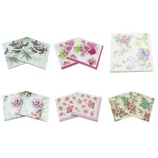 20pcs Serviettes 11 Types Paper Napkin Tableware For Home Party Dinner 33*33cm