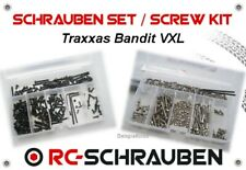 Screw Set for the Traxxas Bandit VXL - Stainless Steel & Steel - ISK & IS