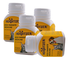 Howitzer 30 Tabs Dose Easy Wormer Dog Worm Worming Tablets Roundworm Tapeworm