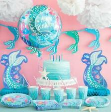 MERMAID PARTY SUPPLIES-MERMAID PARTY THEME-GAMES, DECORATIONS, TABLEWARE!!