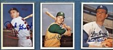 3 Autographed TCMA The 60's Cards--DICK GROAT--BILLY BRYAN--CLAUDE OSTEEN