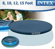 Intex Round Pool Cover Easy Set Above Ground Swimming Pool Easy Set Protection