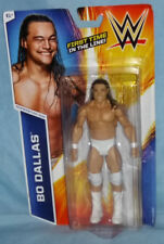 """BO DALLAS WWE BASIC SERIES 49 MATTEL 7"""" FIGURE NEW! FIRST TIME IN THE LINE! NXT!"""