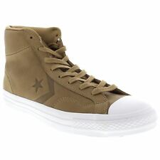 Converse Star Player Hi Sand Dune Womens Leather High Top Trainers