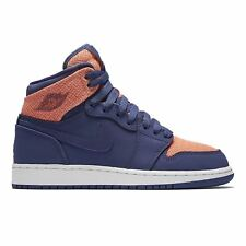 Nike Air Jordan 1 Retro High Purple Youth Trainers