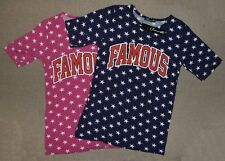 Glamour Babe Famous Logo Star T-Shirt Small / Medium - New With Tags