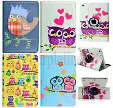 360 Rotating Owl Leather Case Magnetic Smart Cover Stand for Apple iPad Air 2
