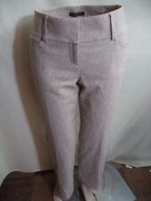 Express Womans Wool Blend Dress Pants: Size 2 Gray Size 0 Beige or Gray Plaid VG