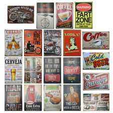 Metal Tin Sign Cafe Poster Wall Plaque Bar Pub Club Tavern Garage Plate 20x30cm