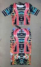 Glamour Babe 2 Piece Set Top & Skirt S/M or M/L - New With Tags