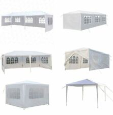 White Outdoor Event Party Wedding Tent Heavy Duty Canopy Gazebo Pop Up Sidewalls