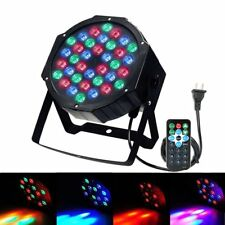 72W 36LED RGB Stage Light DJ Disco Party Club Par Lighting DMX512 Remote Control