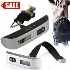 50 kg/110 lb Electronic Digital Portable Luggage Hanging Weight Scale AZZ
