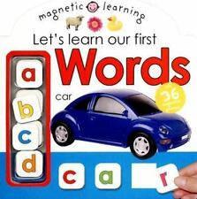 MAGNETIC LEARNING WORDS By Roger Priddy BRAND NEW