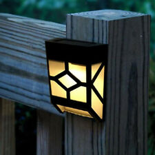 Solar LED Lights Outdoor for Home Garden Wall Yard Fence Decor Lamp