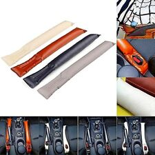 Car seat gap filler auto seats leak stop pad soft spacer holster PU leather