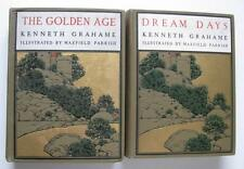1904 Pair of Maxfield Parrish Books Golden Age & Dream Days Kenneth Grahame
