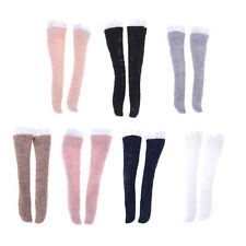 1 Pair Lace Socks Mixed Style Long Stockings For Barbie Doll Accessories TO