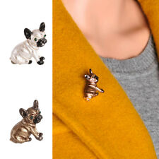 Cute Pug Dog Collar Badge Corsage Brooch Lapel Pin Clothes Decoration Jewelry