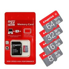 New Micro SD Mini TF Memory Card 16GB 32GB 64GB Class 10 SDHC/SDXC Free Adapter