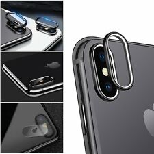 For Apple iPhone X Hardness Back Camera Lens Tempered Glass Film Protector Cover