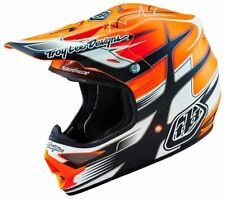 Troy Lee Designs TLD Air Starbreak Matt Orange MX Helmet Motorcycle Helmet
