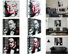 3D Painting Canvas Wall Art Home Decor Marilyn Monroe 100x100cm Easy To Hang