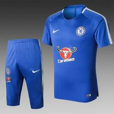 New Chelsea soccer team  football training suit Short sleeves suit blue jersey