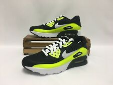 Nike Air Max 90 Ultra SE (GS) Running Shoes Black Volt 844599-002 Youth NEW