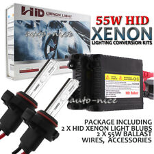 Xenon 55W Slim HID Conversion Kit ALL Bulb Size Color with Ballast Headlight Kit