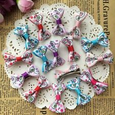 50pcs Baby Girls Ribbon Hair Bow Clips Barrettes For Girl Teens Kids Toddlers