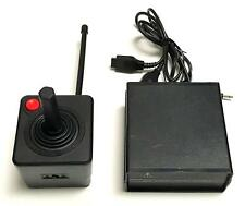 ATARI 2600 Remote Control Wireless JOYSTICK Controller with RECEIVER Working