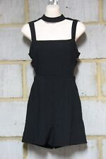ASOS LADIES SEXY PLAYSUIT WITH CUT OUT  IN  BLACK AVAILABLE IN UK 6 & 8 RRP £40