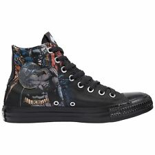 Converse Chuck Taylor All Star Hi Batman Black Youth Canvas High-Top Trainers