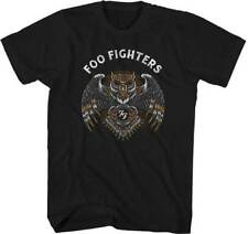FOO FIGHTERS - Owl - T SHIRT S-2XL New Official Live Nation Merchandise